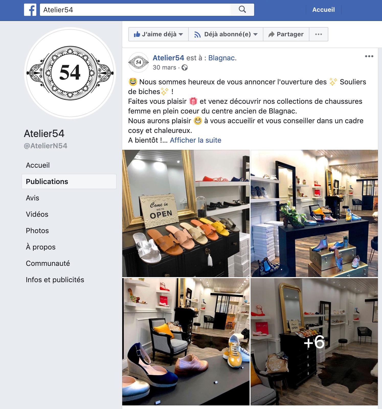 Création et publications des réseaux sociaux Facebook & Instagram à Blagnac, Toulouse, Haute-Garonne, Occitanie.