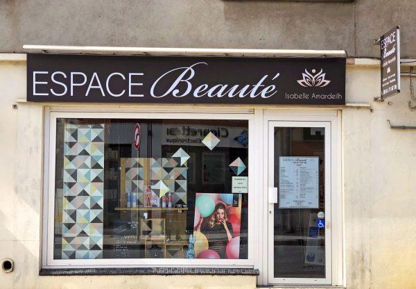 Rénovation d'une enseigne de Salon de beauté - Blagnac - Toulouse