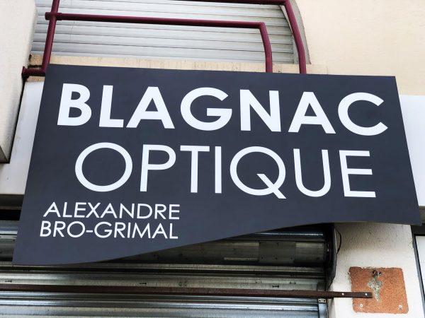 Enseigne Opticien - Rénovation d'une enseigne existante - Toulouse - Blagnac
