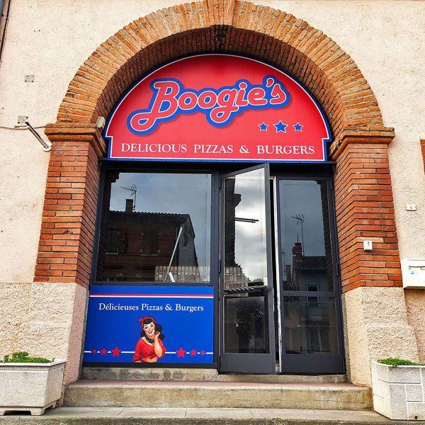 Enseigne Pizzeria sur mesure & vinyles - Toulouse - Blagnac - Labarthe sur leze