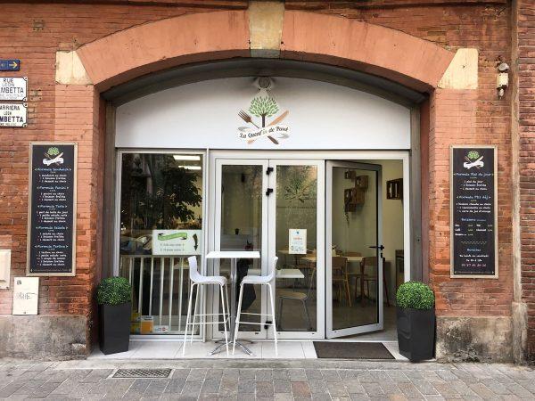 Enseignes de restaurant - Vinyles et panneaux aluminium - Toulouse - Blagnac
